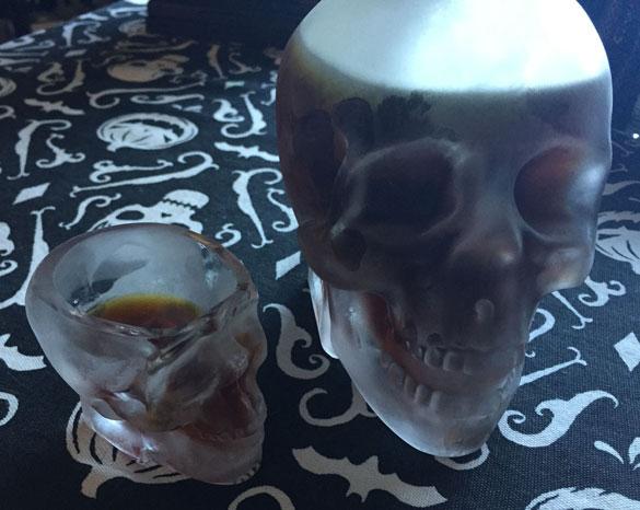 It's Earl Grey vodka! Yum, yum.