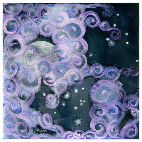 Fairytale Sky 5 by Amy Crook