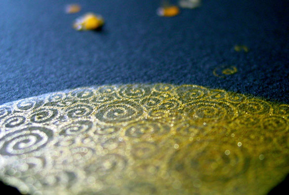 Filigree Moon 2, detail, by Amy Crook