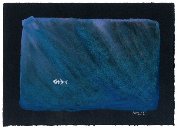 Fish Skellington by Amy Crook