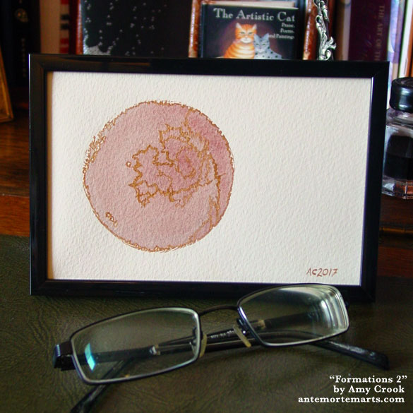 Formations 2, framed art by Amy Crook