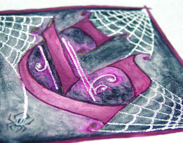 G is for Gothic, detail, by Amy Crook