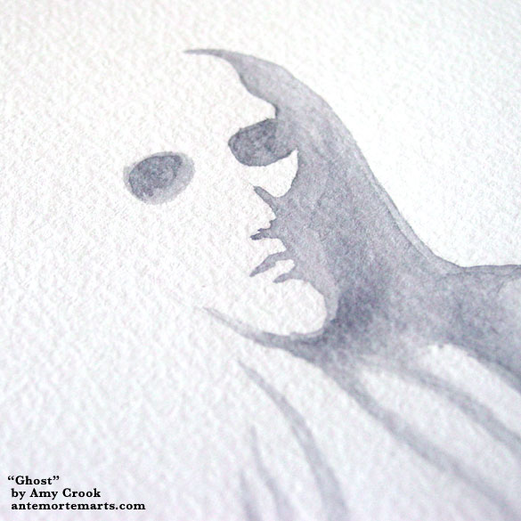 Ghost, detail, by Amy Crook