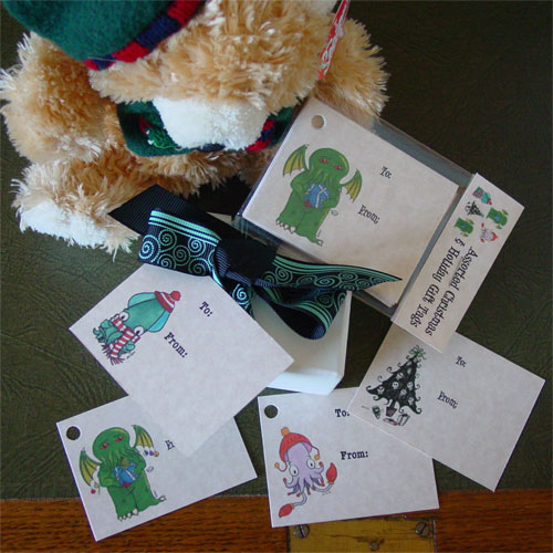 Holiday Gift Tags by Amy Crook
