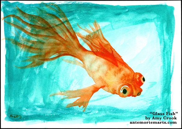 Glass Fish by Amy Crook
