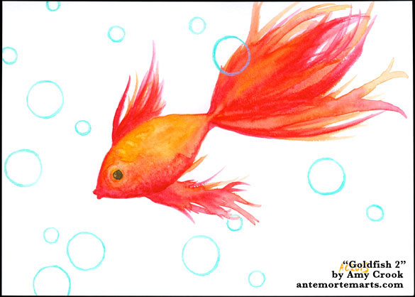 Goldfish 2 by Amy Crook