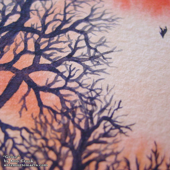 Grove, detail, by Amy Crook