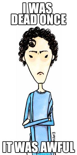 GrumpySherlock cartoon by Amy Crook