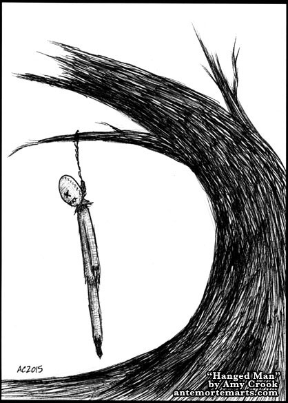 Hanged Man by Amy Crook