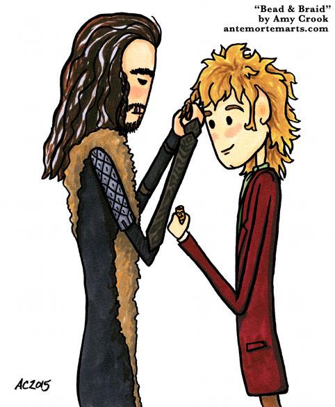 Bead & Braid, a Hobbit comic by Amy Crook