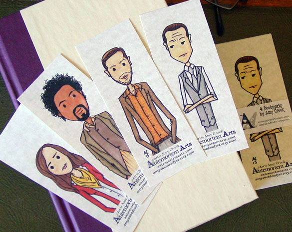 Inception bookmarks by Amy Crook on Etsy
