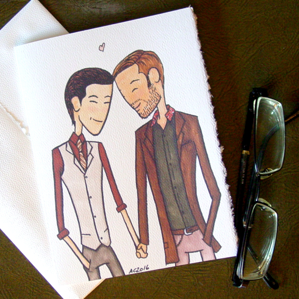 Inception Valentine by Amy Crook on Etsy