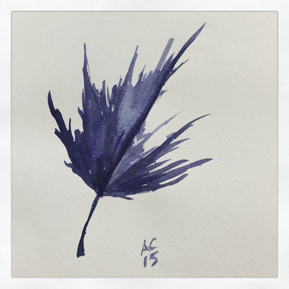 Day 10 - leaf sketch
