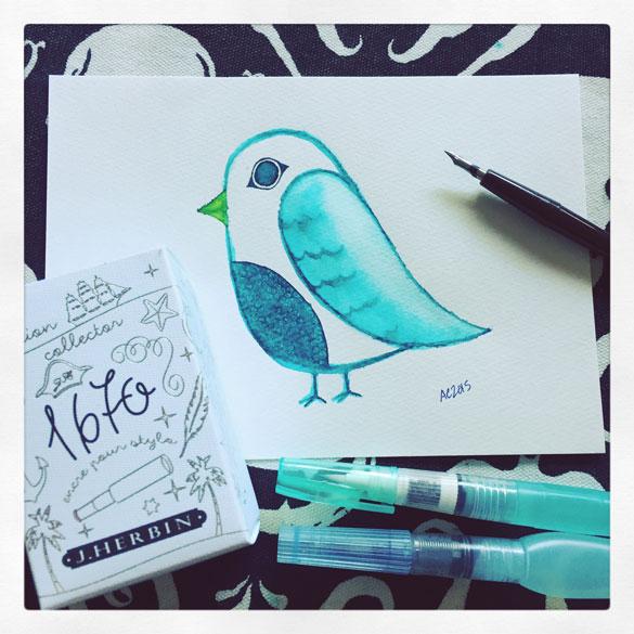 Day 26 - Emerald Bird