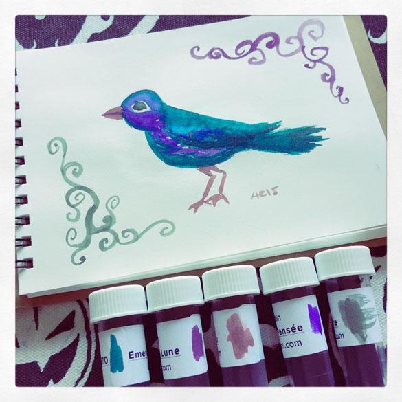 Day 3 - Bird and Spirals