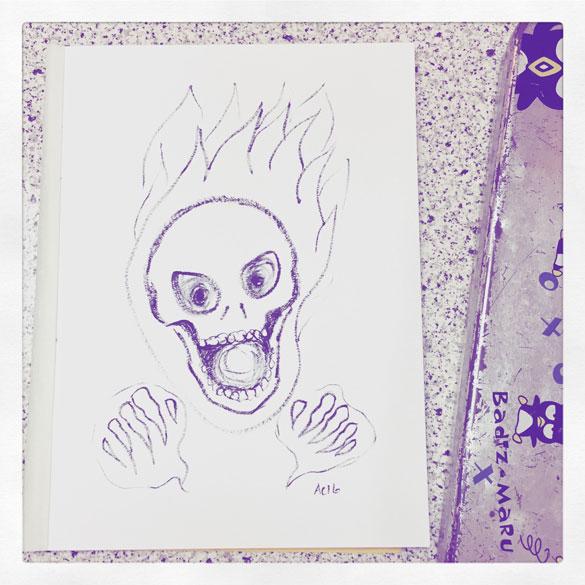 Inktober day 26: ridiculous haunted Haunter