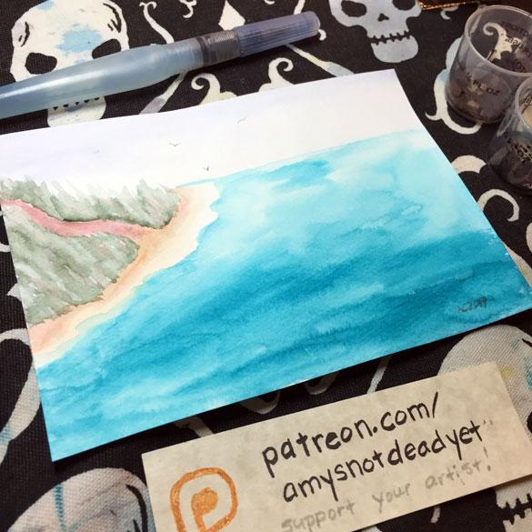 Inktober day 17: Inspiration Island