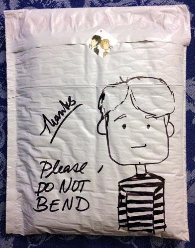 Don't Bend John Watson sketch by Amy Crook