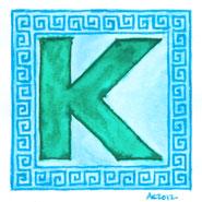 K is for Greek Key