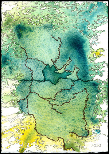 Map to an Undiscovered Country by Amy Crook