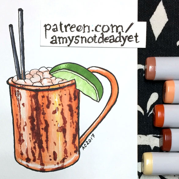 Moscow Mule by Amy Crook for Jeff