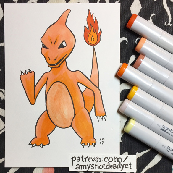 Charmeleon by Amy Crook for Eric