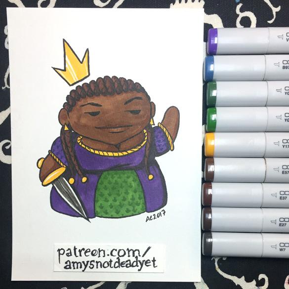 Queen of Swords by Amy Crook
