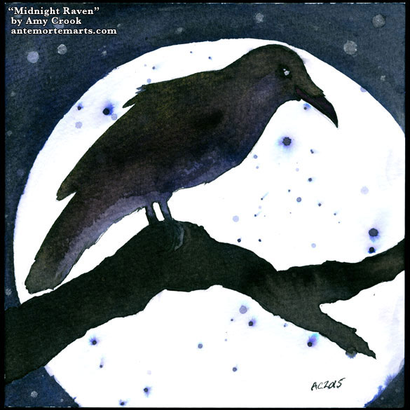 Midnight Raven by Amy Crook