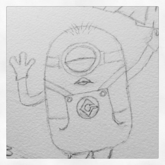 this is a sneak preview of future minion art