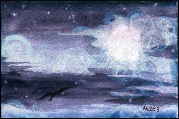 Misty Moon 2 by Amy Crook