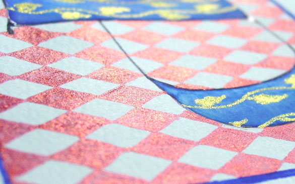 P is for Pattern & Primary, detail, by Amy Crook