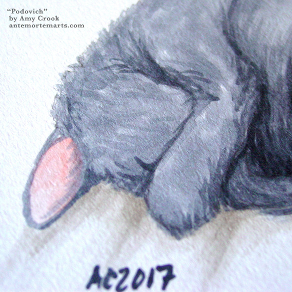 Podovich, detail, by Amy Crook