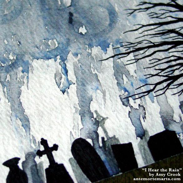 I Hear the Rain, detail, by Amy Crook