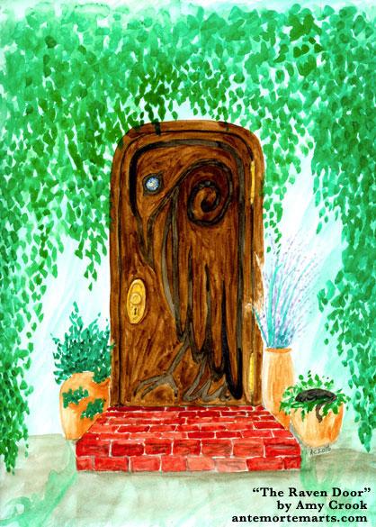 The Raven Door by Amy Crook
