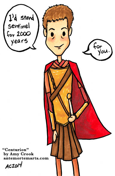 Centurion, a Doctor Who comic by Amy Crook
