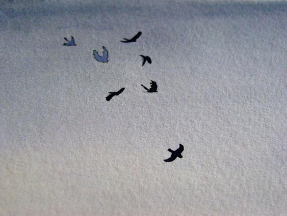 Seven for a Secret, detail, by Amy Crook