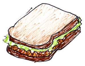 Meatloaf Sammich, food of the Gods