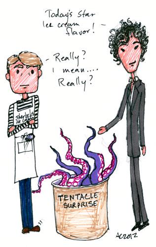 Sharpie Sherlock silliness by Amy Crook