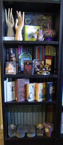 Bookcase 1 of 6*, bottom half