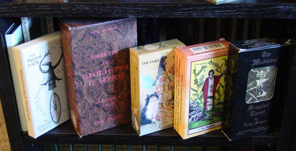 I did mention the tarot decks, right?