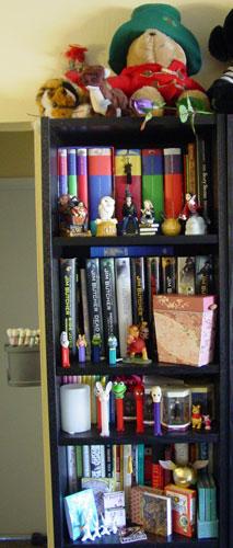 Bookcase 1 of 6*, top half