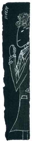 Sherlock bookmark by Amy Crook