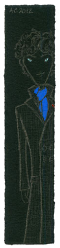 Sherlock Bookmark 3 by Amy Crook