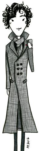 Sherlock in Grey by Amy Crook