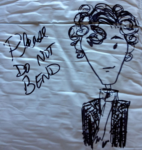 Do Not Bend Sherlock sketch by Amy Crook