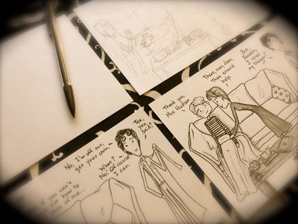 The Death of Me, Too, a comic in progress by Amy Crook
