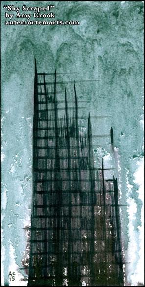 Sky Scraped by Amy Crook