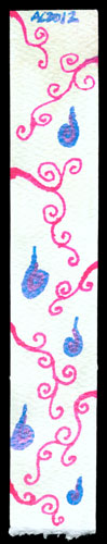 Spiral Bookmark 5 by Amy Crook