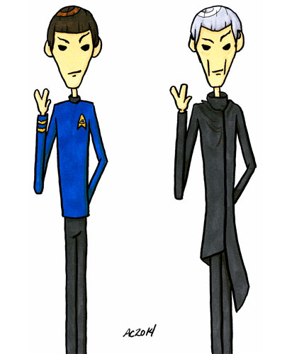 Doubly Logical, a Star Trek parody comic by Amy Crook