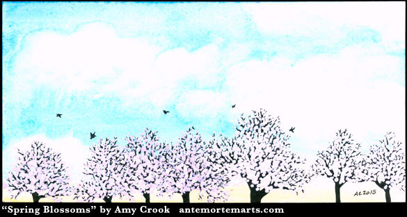 Spring Blossoms by Amy Crook
